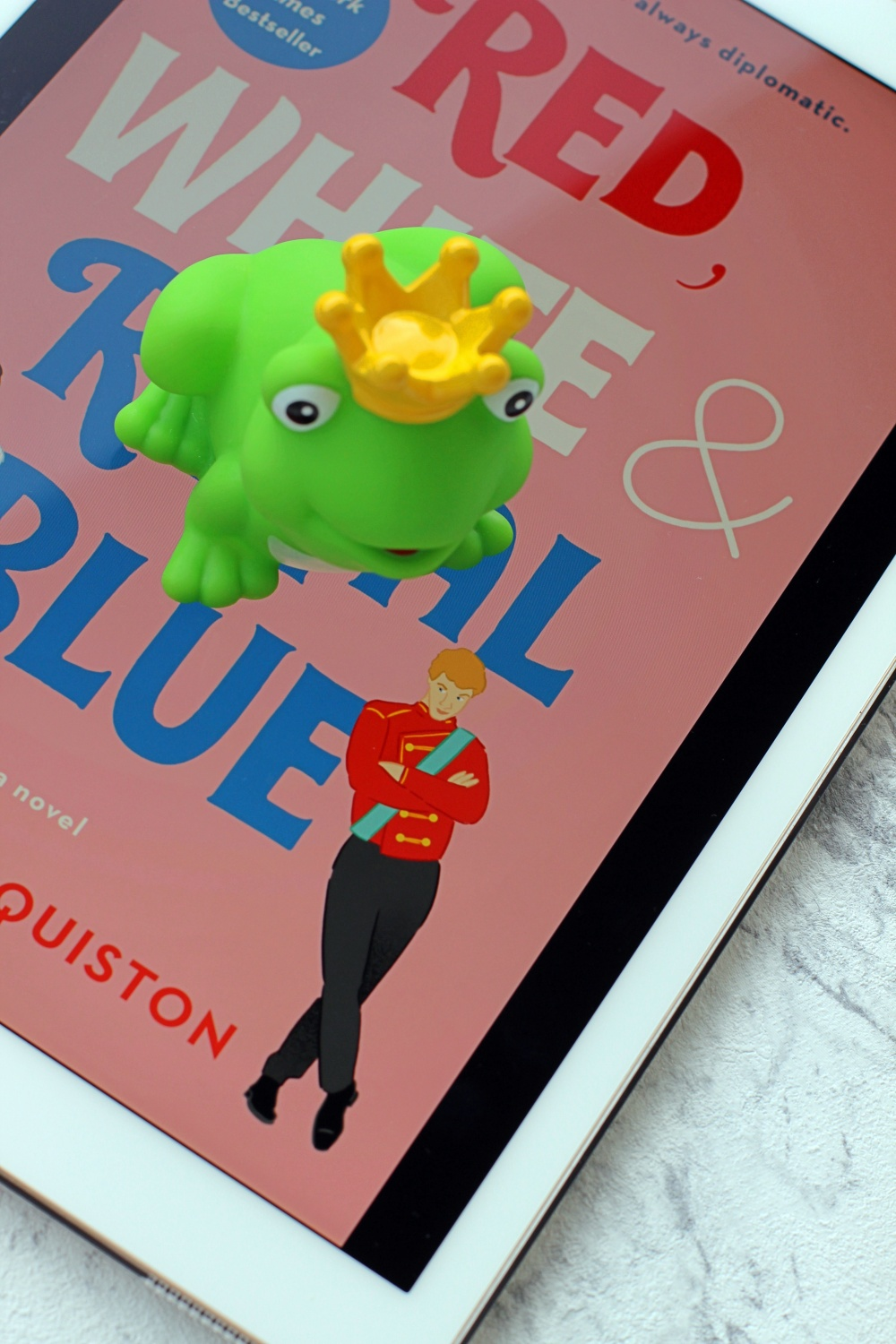 Rezension Red White & Royal Blue von Casey McQuiston