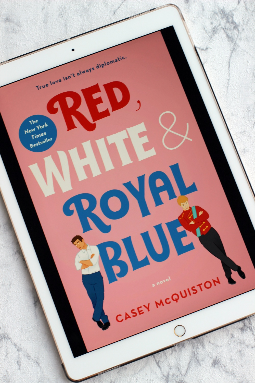 Rezension Red White and Royal Blue von Casey McQuiston