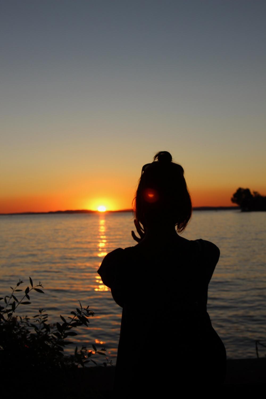 Sonneuntergang Langenargen