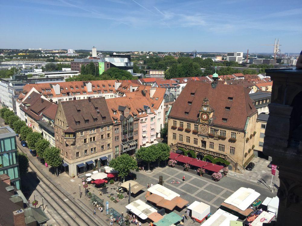 Heilbronn Blick von Killianskirche