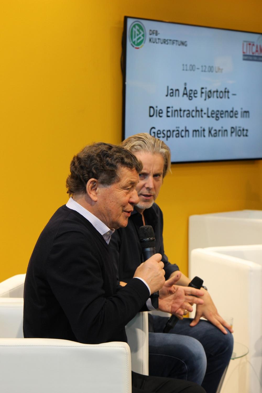 Otto Rehhagel und Jan Aage Fjörtoft