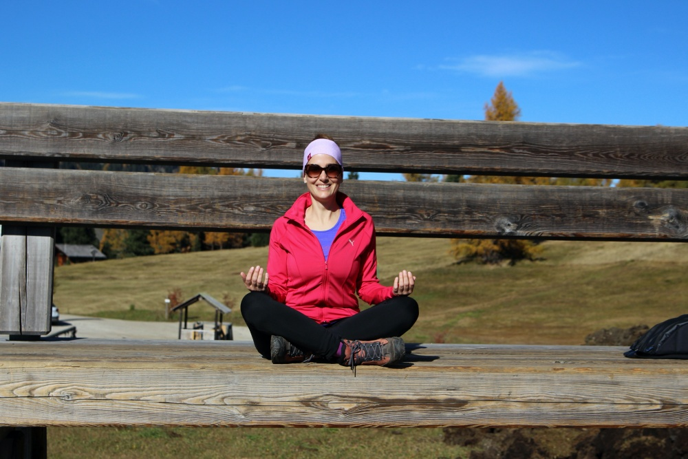 Yoga Seiser Alm