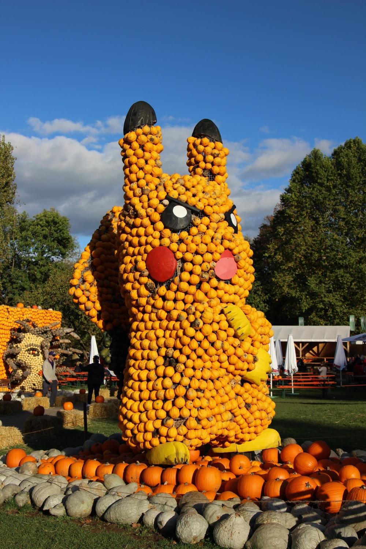 Kürbsausstellung Ludwigsburg Pikachu