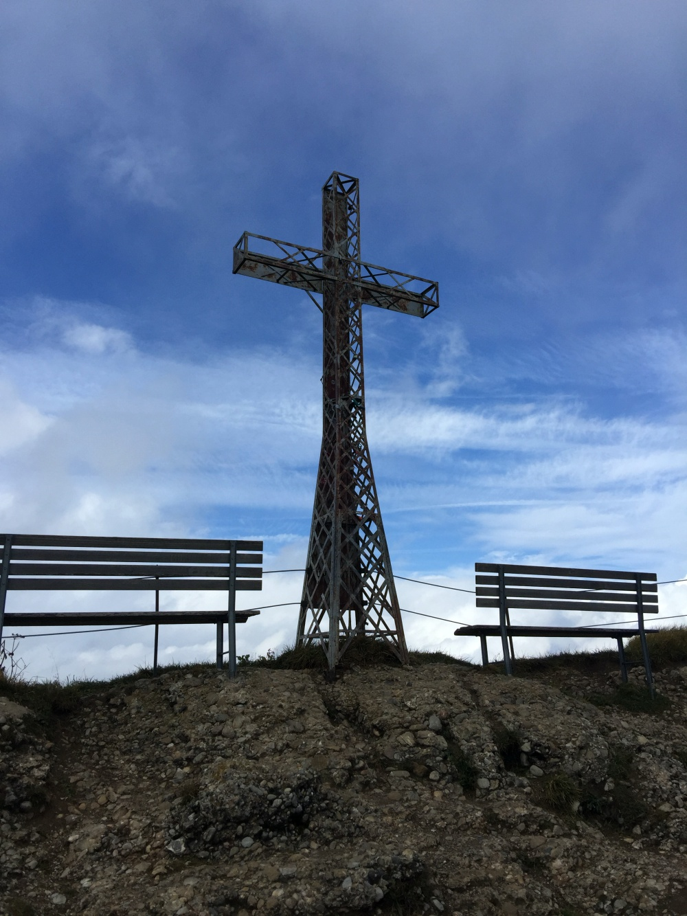 Gipfelkreuz Hochgrat