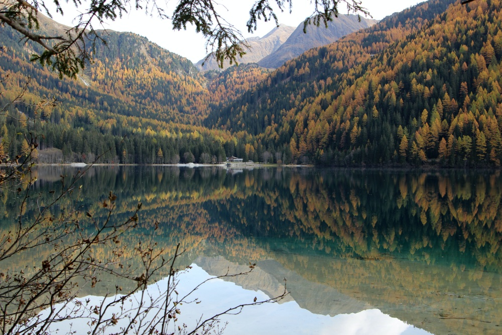 Antholzer See Herbst