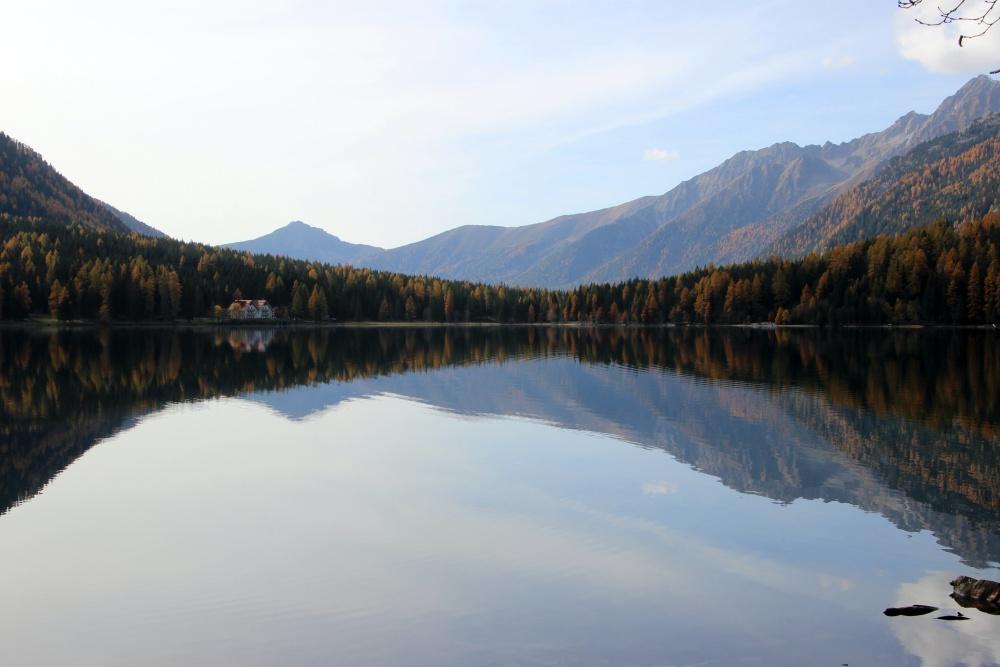 Antholzer See Herbst