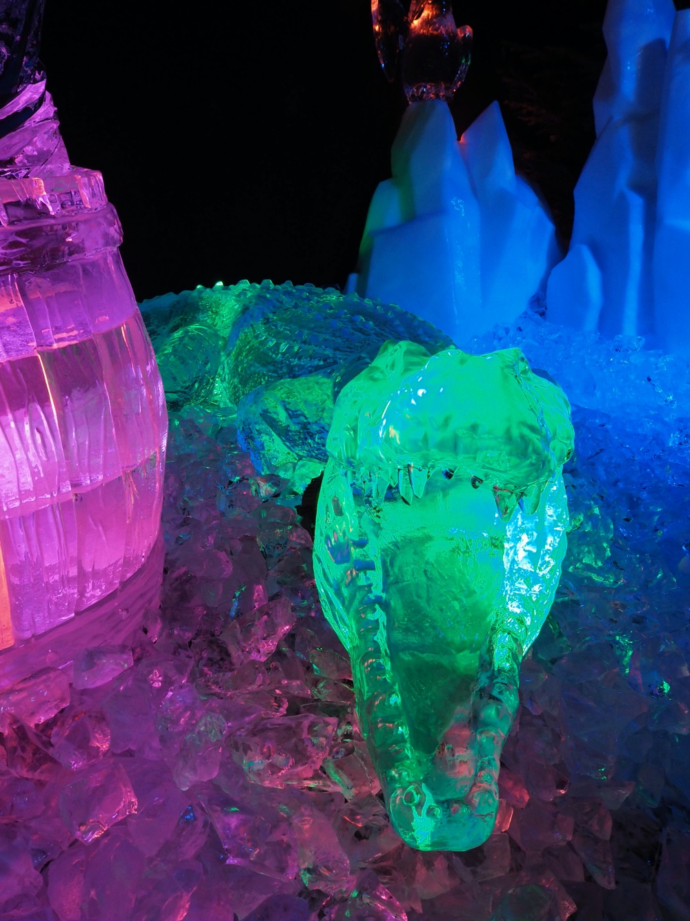 Eisskulpturen Winterzauber