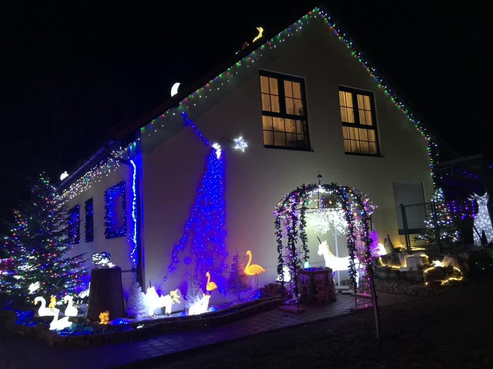 Weihnachtshaus 2019