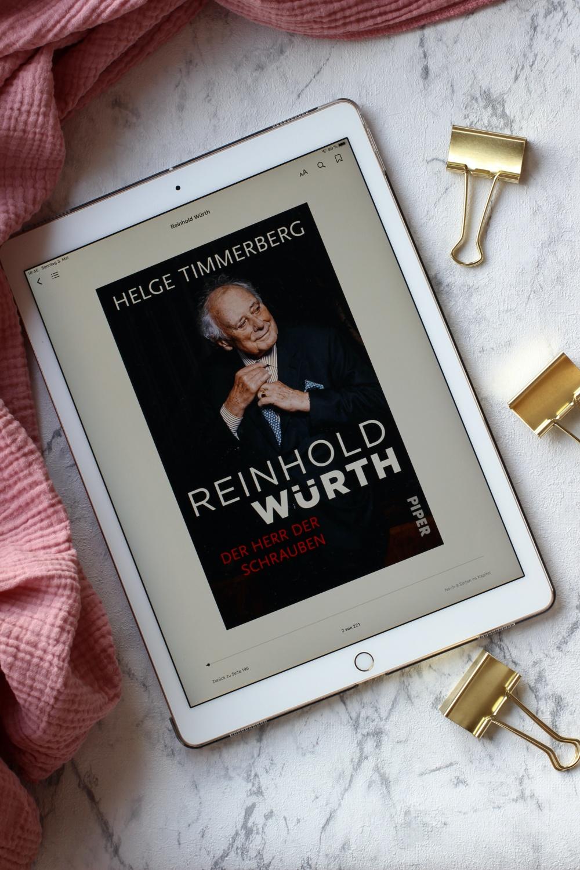 Reinhold Würth - Der Herr der Schrauben von Helge Timmerberg