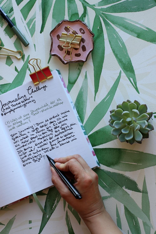 Online-Fortbildungen Journaling Challenge Theresa Kellner