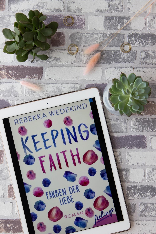 Lesemonat Juli 2020 Keeping Faith