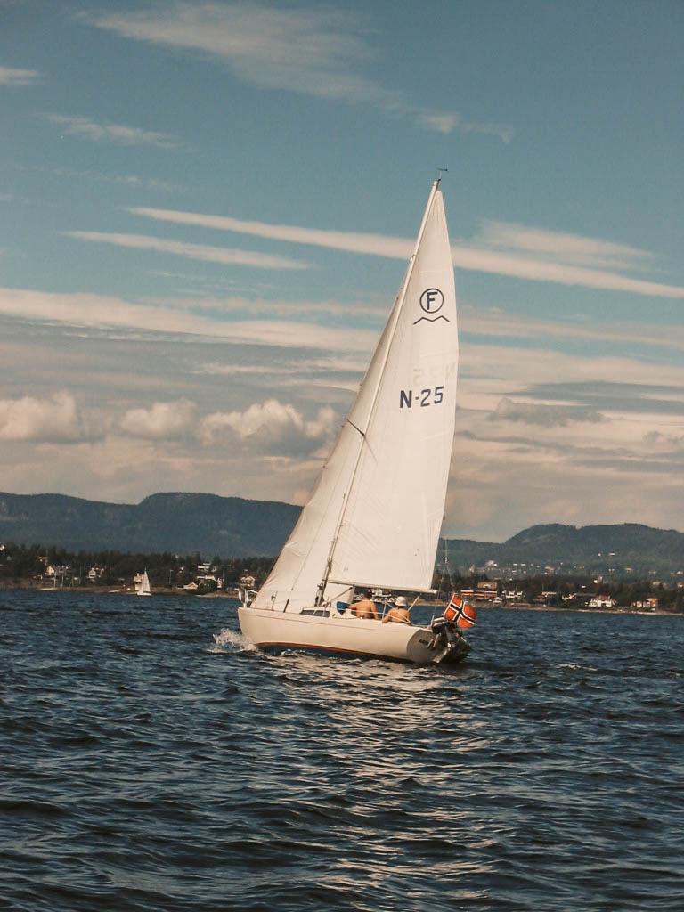 Boot Oslo-Fjord