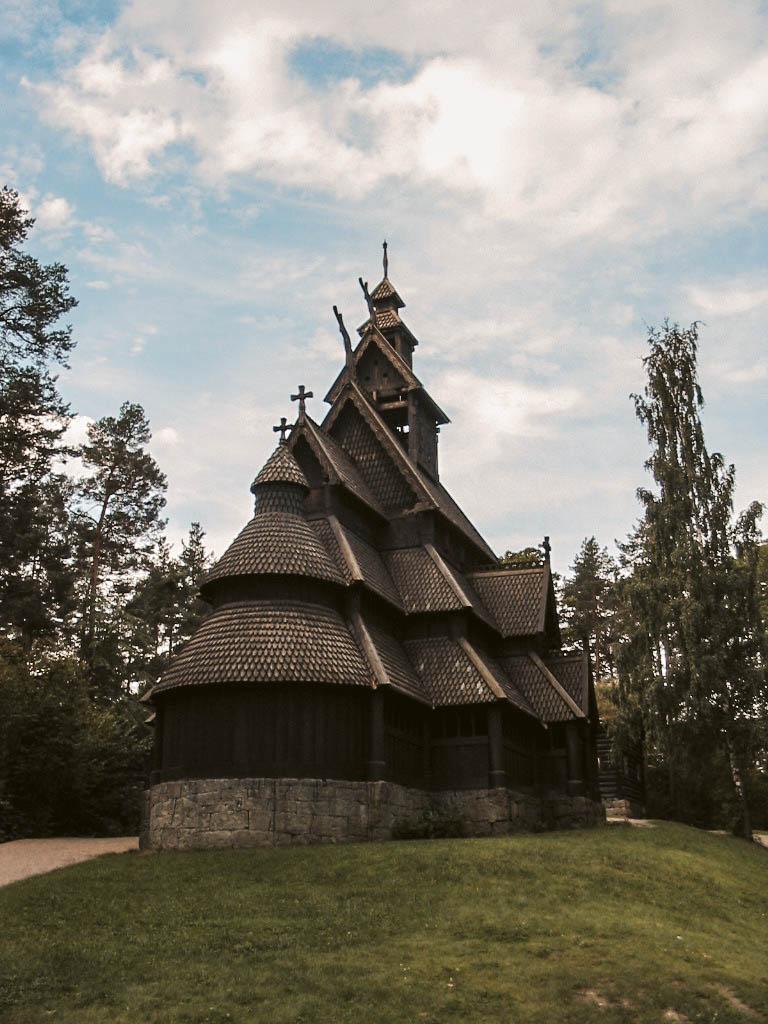 Stabkirche am Holmenkollen