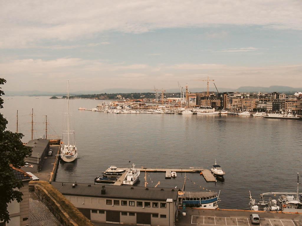 Norwegen-Liebe Hafen Oslo
