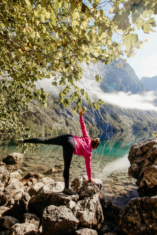 Yoga am Königssee