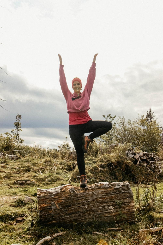 Yoga auf der Mordaualmrunde