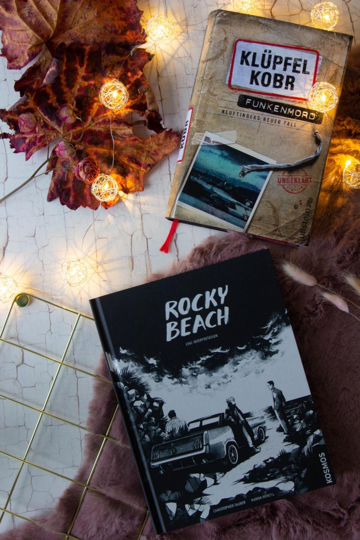 Lesemonat Oktober 2020 Rocky Beach und Funkenmord Kluftinger