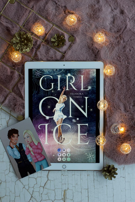 Girl on Ice von Teodora Timea