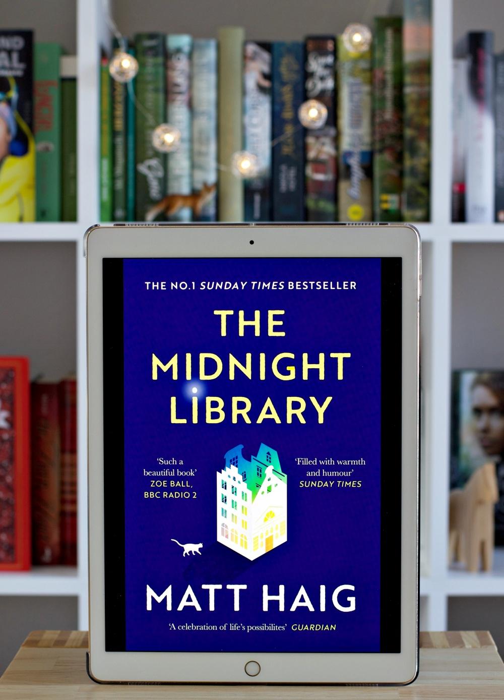 Lesemonat Februar 2021 The Midnight Library von Matt Haig