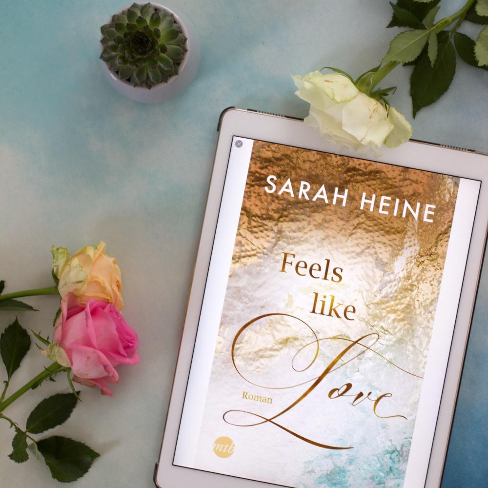 Feels like Love von Sarah Heine Lesemonat März 2021