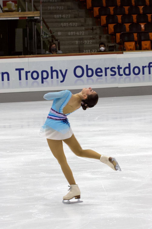 Sinem Pekder_2021 Nebelhorn Trophy_Kurzprogramm Damen