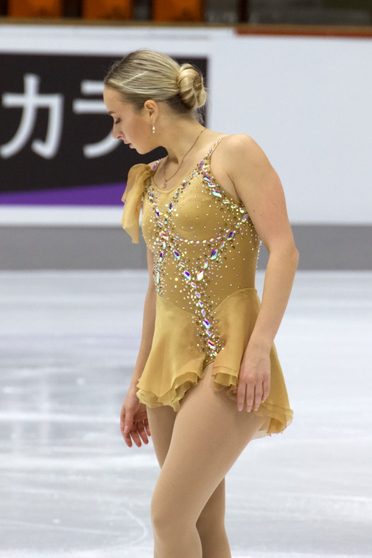 Gerli Liinamae_2021 Nebelhorn Trophy_Kurzprogramm Damen