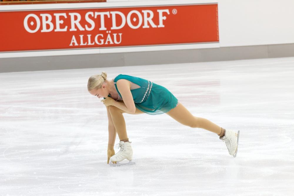 2021 Nebelhorn Trophy_Kür Damen_Aldis Kara Bergsdottir